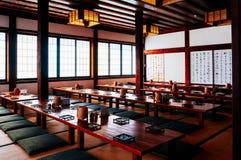 Uma sala de chá em Japão imagens de stock royalty free