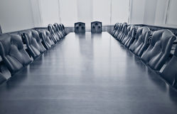 Uma sala de conferências vazia Fotografia de Stock