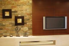 Uma sala de visitas Fotografia de Stock Royalty Free