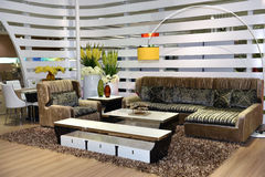 Uma sala de visitas Imagens de Stock Royalty Free