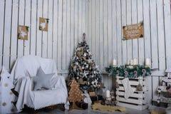 Uma sala de visitas bonita Imagens de Stock Royalty Free