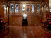 Uma sala de visitas chinesa Imagens de Stock Royalty Free