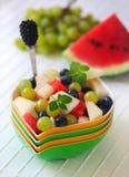 Uma salada de fruto Fotos de Stock Royalty Free