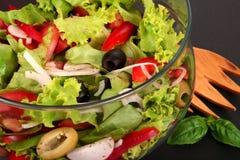 Uma salada fresca Fotos de Stock