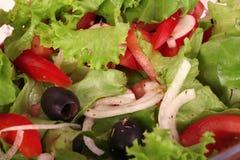 Uma salada fresca imagem de stock