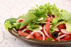 Uma salada pequena foto de stock royalty free