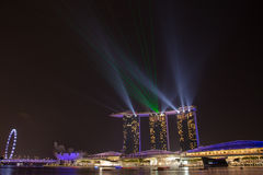 Uma saudação a Singapura e a seu sucesso Imagens de Stock Royalty Free
