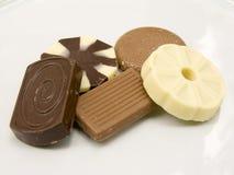 Uma seleção dos biscoitos Fotografia de Stock Royalty Free