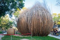 Uma semente do c?u do mundo Flora Exposition de Taichung fotografia de stock royalty free