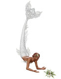 Uma sereia da noiva Fotos de Stock