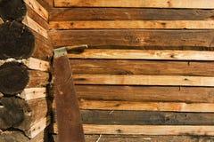 Uma serra velha Fotografia de Stock