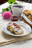 Uma sobremesa deliciosa Foto de Stock Royalty Free
