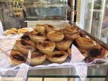 Uma sobremesa famosa portuguesa fotos de stock royalty free