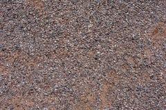 Uma superfície das pedras e do cascalho pequenos 34 fotografia de stock royalty free