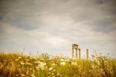 Uma taberna grega minúscula Imagens de Stock