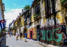 Uma tarde bonita em Cuba imagem de stock royalty free