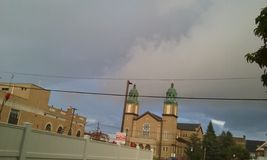 Uma tempestade Imagens de Stock