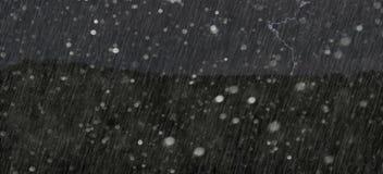 Uma tempestade terrível imagens de stock