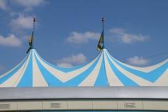 Uma tenda do circus imagens de stock royalty free