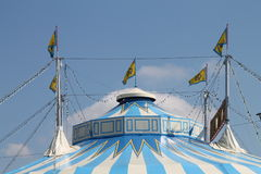 Uma tenda do circus Imagem de Stock