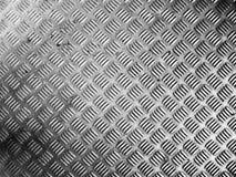 Uma textura colidida placa do metal do diamante Imagens de Stock