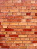 Uma textura da parede de tijolo vermelho Fotografia de Stock