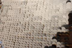 Uma textura das lantejoulas Foto de Stock