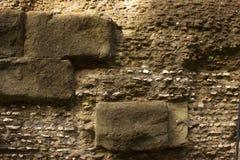 Uma textura de uma parede de pedra Imagem de Stock