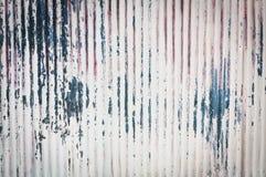 Uma textura oxidada do metal do ferro ondulado Fotografia de Stock Royalty Free