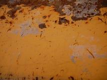 Uma textura oxidada do metal do vintage do grunge fotos de stock