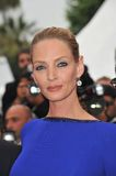 Uma Thurman. At the 64th Festival de Cannes awards gala. May 22, 2011  Cannes, France Picture: Paul Smith / Featureflash Royalty Free Stock Images