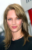 Uma Thurman. Actress UMA THURMAN at the Cannes Film Festival where she performed the opening ceremony for the American Pavilion. She is in Cannes promoting her Royalty Free Stock Image