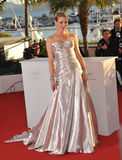 Uma Thurman. CANNES, FRANCE - MAY 26, 2013: Uma Thurman at the closing awards gala of the 66th Festival de Cannes Stock Images