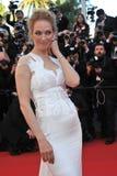 Uma Thurman. CANNES, FRANCE - MAY 24, 2014: Uma Thurman at the gala awards ceremony at the 67th Festival de Cannes Royalty Free Stock Image