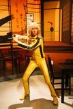 Uma Thurman jako panna młoda od zwłoki Bill w Madame Tussauds Hollywood Obraz Stock