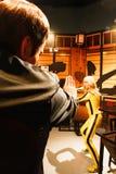 Uma Thurman jako panna młoda od zwłoki Bill w Madame Tussauds Hollywood Zdjęcia Royalty Free