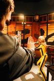 Uma Thurman jako panna młoda od zwłoki Bill w Madame Tussauds Hollywood Fotografia Royalty Free