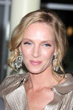 Uma Thurman. LOS ANGELES - MAR 22:  Uma Thurman arrives at the 'Ceremony' Premiere at ArcLight Theater on March 22, 2011 in Los Angeles, CA Royalty Free Stock Photos