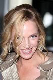 """Uma Thurman. LOS ANGELES - MAR 22:  Uma Thurman arrives at the """"Ceremony"""" Premiere at ArcLight Theater on March 22, 2011 in Los Angeles, CA Royalty Free Stock Image"""