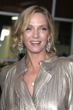 Uma Thurman. LOS ANGELES - MAR 22:  Uma Thurman arrives at the 'Ceremony' Premiere at ArcLight Theater on March 22, 2011 in Los Angeles, CA Royalty Free Stock Photography