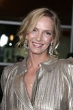 """Uma Thurman. LOS ANGELES - MAR 22:  Uma Thurman arrives at the """"Ceremony"""" Premiere at ArcLight Theater on March 22, 2011 in Los Angeles, CA Royalty Free Stock Photo"""