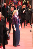 UMA THURMAN. Berlin, Germany, February 9th, 2014: Uma Thurman attends the pemiere of Nymphomaniac Volume 1 during the 64th Berlinale Internationel Film Festival Stock Photo