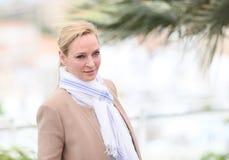 Uma Thurman woont de Juryv.n. bij Bepaalde Achting photocall royalty-vrije stock foto