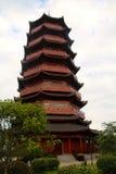 Uma torre chinesa Fotos de Stock Royalty Free