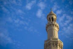 Uma torre da mesquita Foto de Stock Royalty Free