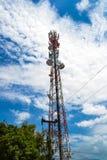 Uma torre da telecomunicação Imagem de Stock