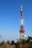 Uma torre das telecomunicações Foto de Stock Royalty Free