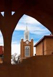 Uma torre de igreja Imagens de Stock