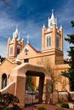 Uma torre de igreja Fotografia de Stock
