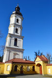 Uma torre de sino velha em Pinsk Fotografia de Stock Royalty Free